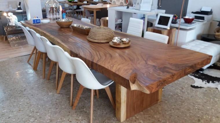 Espectaculares mesas de comedor grandes - Mesas grandes de comedor ...